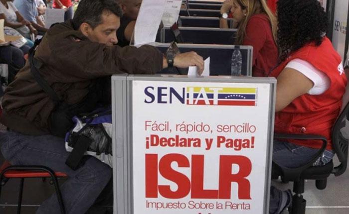 Solo los que ganen más de 50.000 bolívares pagarán ISLR