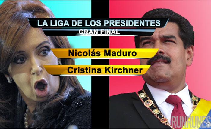 La Liga de los Presidentes: La Gran Final entre Maduro vs Kirchner