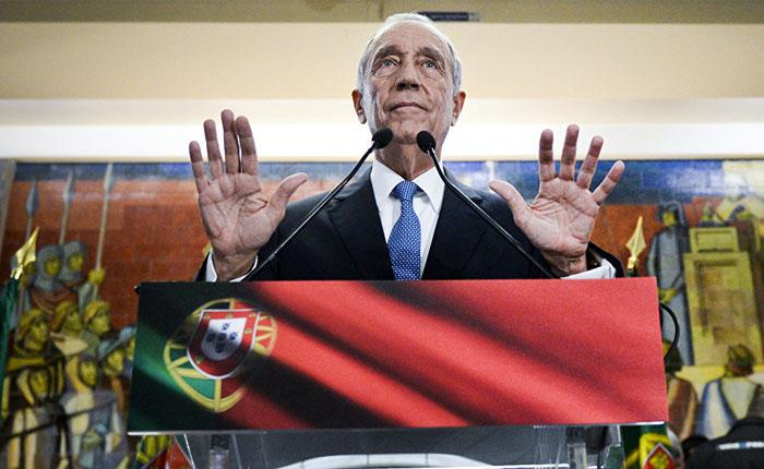 El conservador Marcelo Rebelo de Sousa gana la presidencia de Portugal