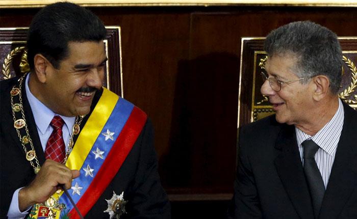 Maduro a Ramos Allup: Al ministro de Alimentación no lo remueve nadie