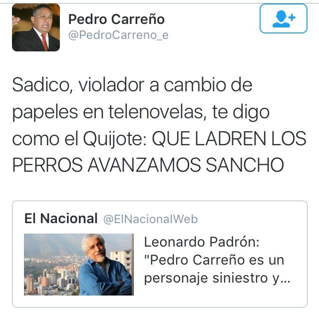 PerdroCarreñoTuit