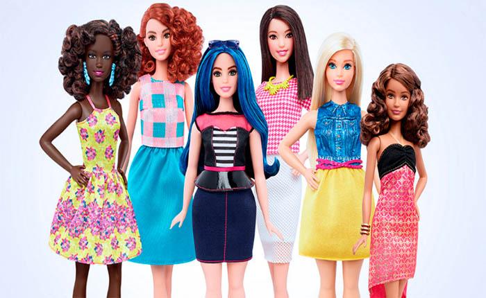 Barbie cambia su cuerpo por primera vez en 57 años
