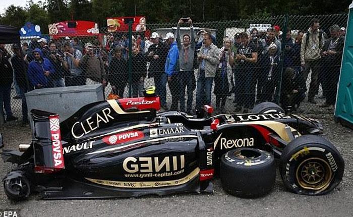 F1: Por falta de patrocinio de PDVSA Maldonado no chocará este año