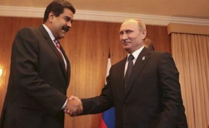 Maduro y Putin se reúnen para discutir el precio del petróleo en Venezuela