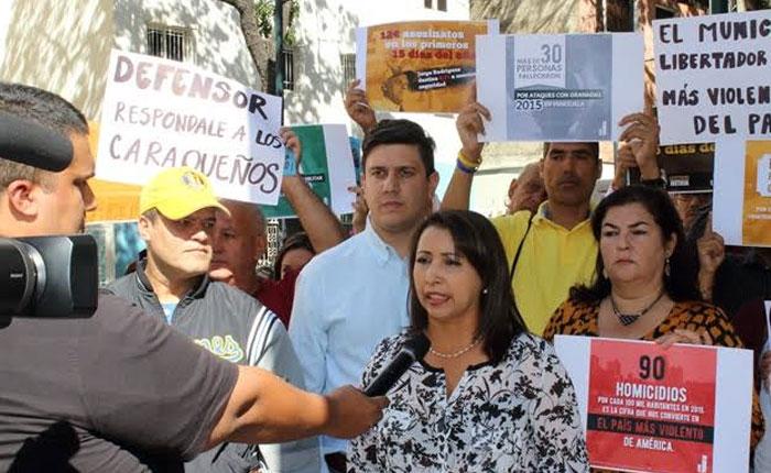 Oposición y oficialismo tomarán medidas para enfrentar la inseguridad en el Municipio Libertador