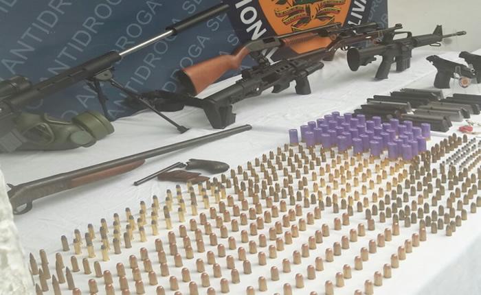 Incautan arsenal de guerra en apartamento en Los Campitos