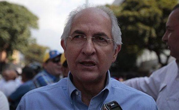 """Ledezma pide que diálogo entre Gobierno y oposición defina """"salida"""" de Maduro"""