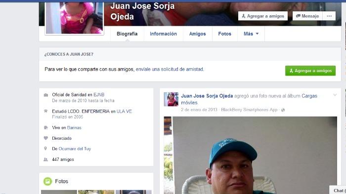 Biografia facebook Mayor Juan José Sorja Ojeda