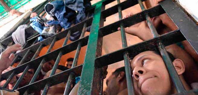 Intento de fuga de detenidos en Polichacao dejó dos policías heridos
