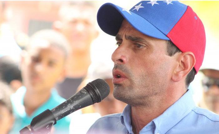 Capriles: ningún país democrático debe tener presos, perseguidos ni exiliados políticos
