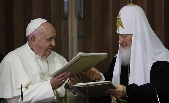 El encuentro ecuménico Roma-Moscú por Milos Alcalay