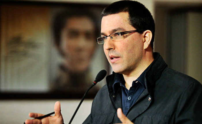 Jorge Arreaza dio 48 horas al embajador alemán para salir de Venezuela
