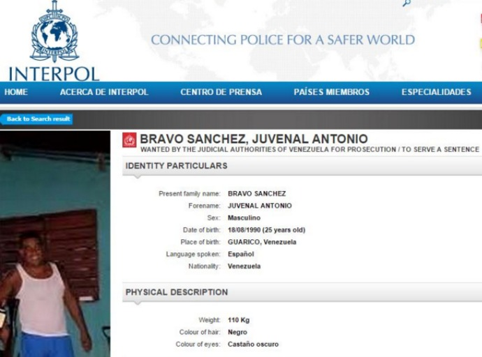 Juvenal en Interpol