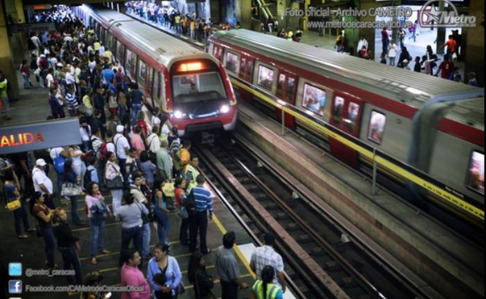 Explosión por falla eléctrica ocasionó fuerte retraso en el Metro de Caracas