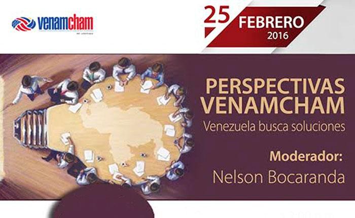 #25F llega el foro Perspectivas #VenAmCham2016Ccs: Venezuela busca soluciones