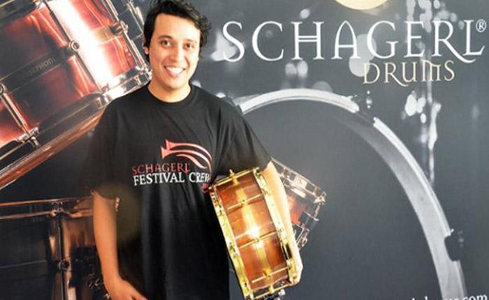 El venezolano Yilmer Vivas es el nuevo baterista del Cirque Du Soleil