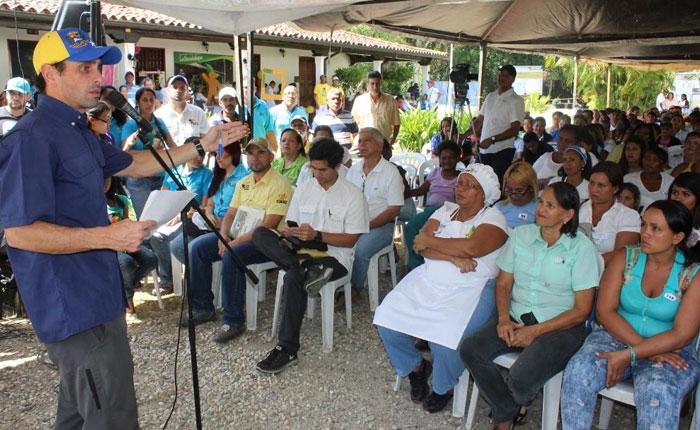 Capriles: hay que anticiparse constitucionalmente a cualquier marramucia del gobierno