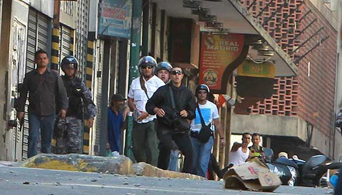 Con colectivos y Sebin armaron la trama de violencia el 12F