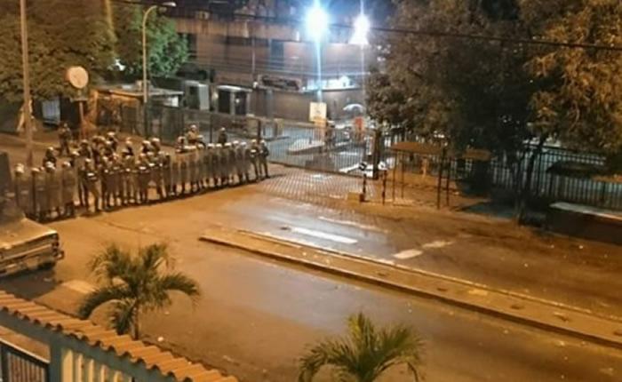 Protesta en Guarenas por falta de agua