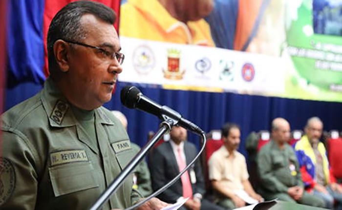 Néstor Reverol es el nuevo ministro de Relaciones Interiores, Justicia y Paz