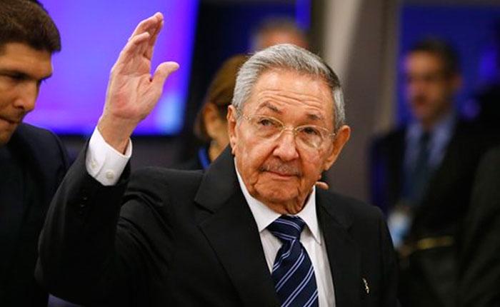 Raul Castro saldrá de presidencia cubana en abril de 2018