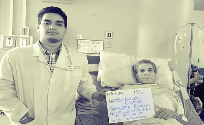 [FOTOS] Médicos y pacientes del Hospital Clínico Universitario denuncian crisis humanitaria