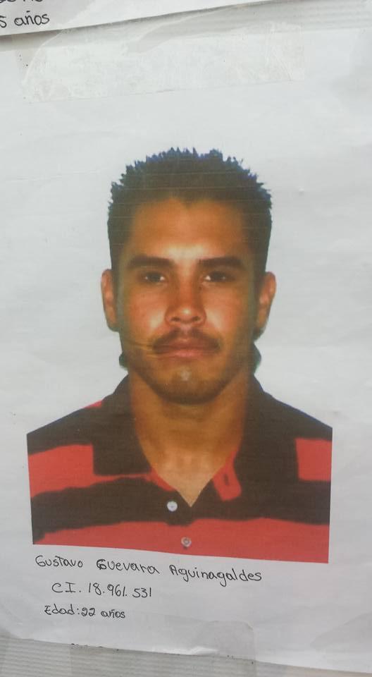 Gustavo Guevara Aguinaldes (22 años)