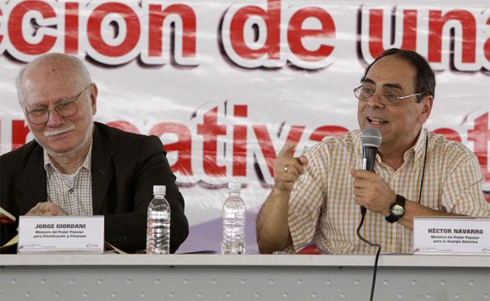 AN aprueba comparecencia de ex ministros Jorge Giordani y Héctor Navarro
