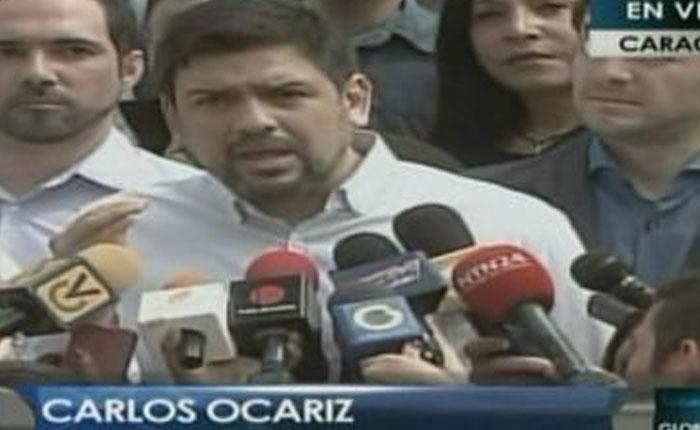 Carlos Ocariz y Ramón Muchacho presentaron en la AN el plan Recuperemos Caracas
