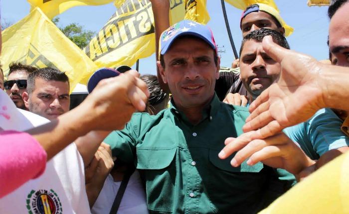 Políticos opositores se solidarizaron con Capriles Radonski