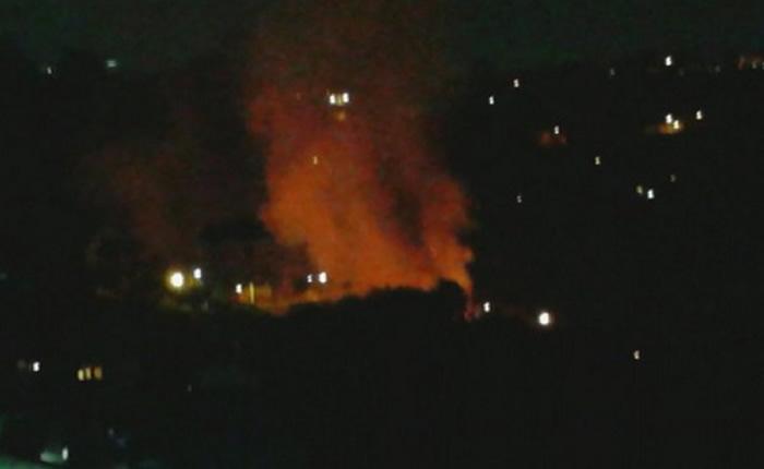 incendio en oripoto