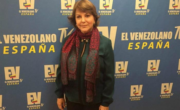 """Mitzy de Ledezma:  """"Es estrictamente necesario el diálogo en Venezuela para salir de la grave crisis institucional"""""""
