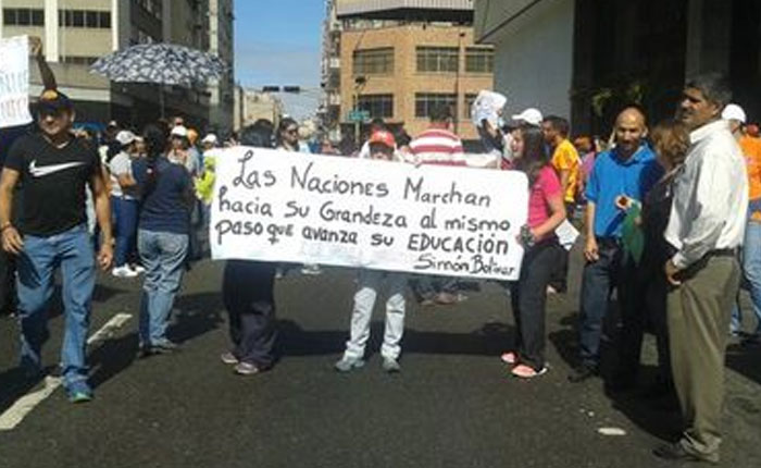 protestamaestros