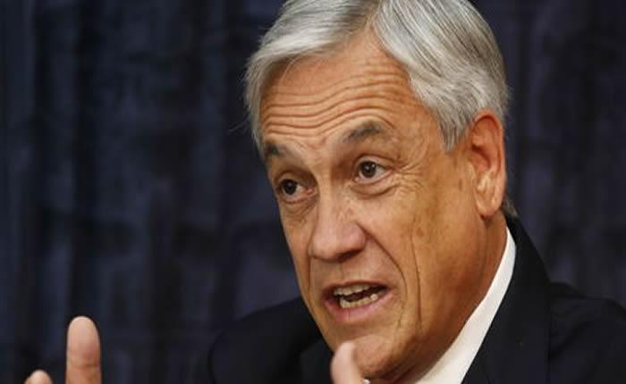 Ex presidente chileno Sebastián Piñera evalúa venir a Venezuela