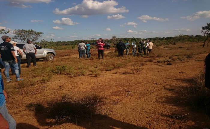 Cicpc peinó zona donde desaparecieron los mineros y encontró restos de ropa y una moto