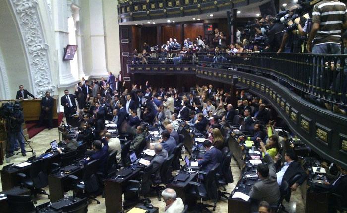 AN aprobó sanción de responsabilidad política para Carlos Osorio y Giusseppe Yoffreda