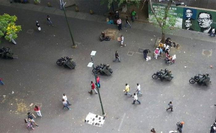 Reportaron intento de saqueos y comercios cerrados en Catia