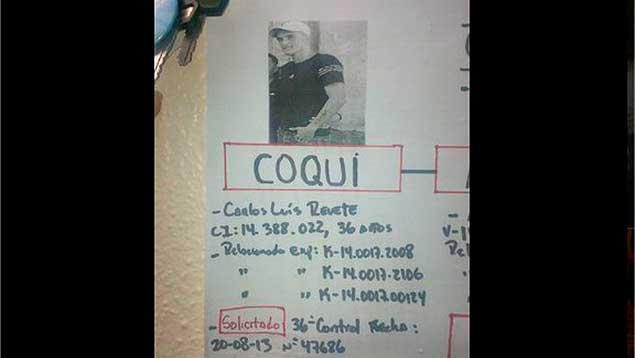 """""""Coqui"""" era el objetivo de la primera OLP y encabeza lista de más buscados"""
