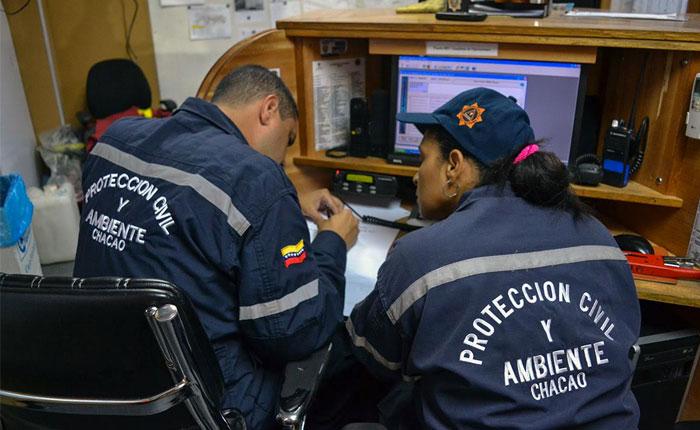 Alcaldía de Chacao mantiene desplegado operativo de contingencia tras lluvia