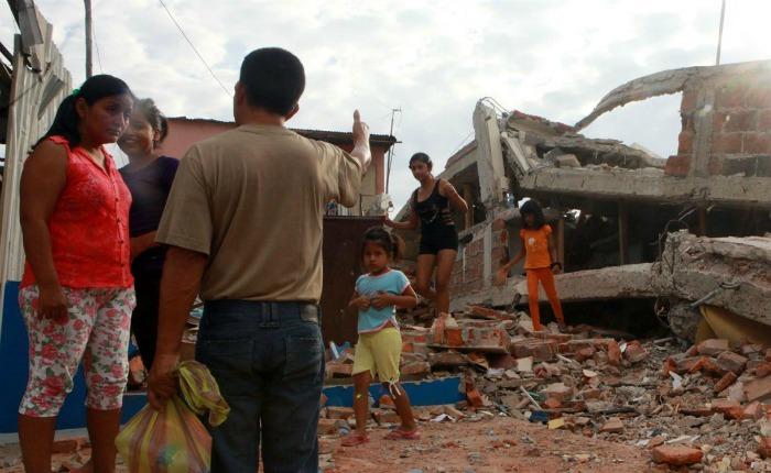 Acnur: A un mes del terremoto en Ecuador, persisten las necesidades humanitarias