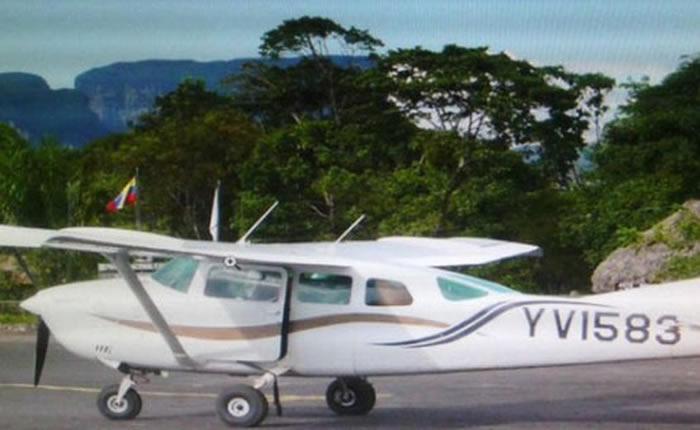Investigan muerte de tripulantes de avioneta que cayó en Bolívar