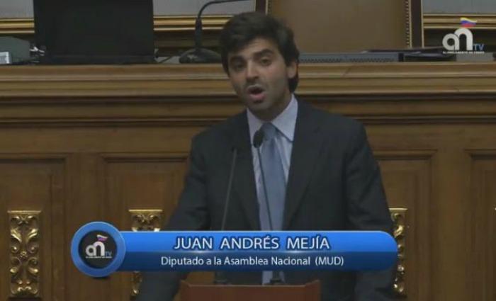 Dip. Juan Andrés Mejía presenta proyecto de Ley Orgánica de la Contraloría General de la República
