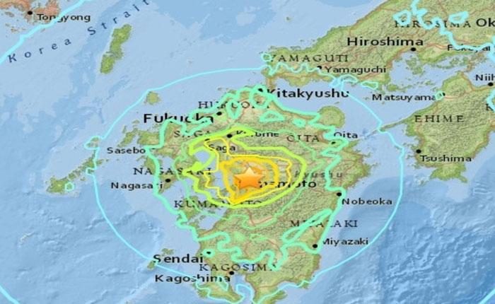 Nuevo terremoto de magnitud 7 afectó el sur de Japón