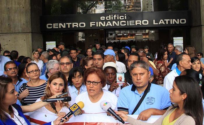 """Trabajadores de la Alcaldía Metropolitana: """"Un país no se construye con vagancia, se construye con trabajo"""""""