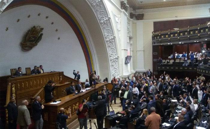 Asamblea Nacional niega Decreto de Estado de Excepción y Emergencia Económica