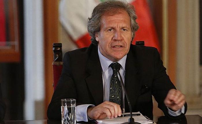 """Luis Almagro rechazó acusaciones contra opositores por """"traición a la patria"""""""