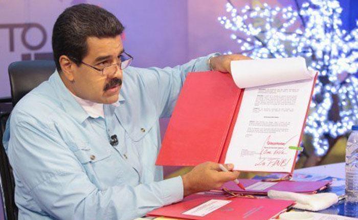 Venezuela entre el estado de excepción y el desconocimiento a la Asamblea Nacional