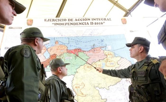 Ejercicios militares: aumento de control y represión ante la amenaza