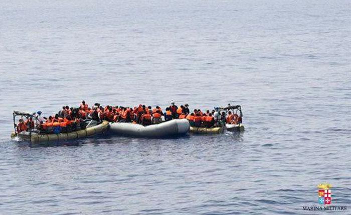 ONG calculan hasta mil migrantes muertos en el mar Mediterráneo