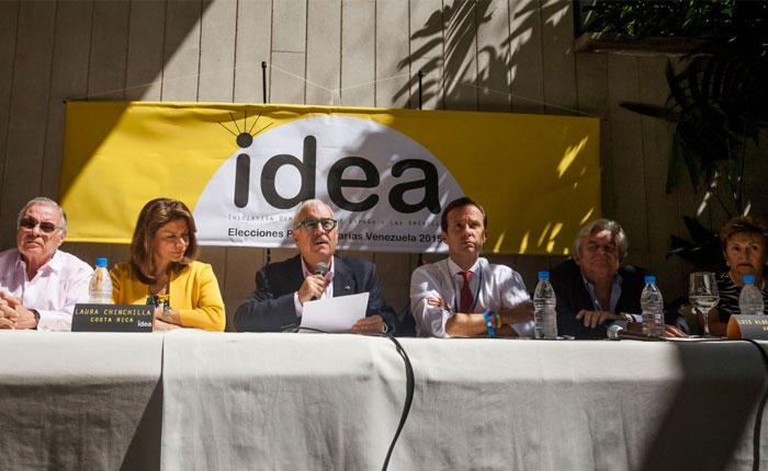 """Ex presidentes integrantes de IDEA reclaman """"solidaridad activa"""" con Venezuela"""